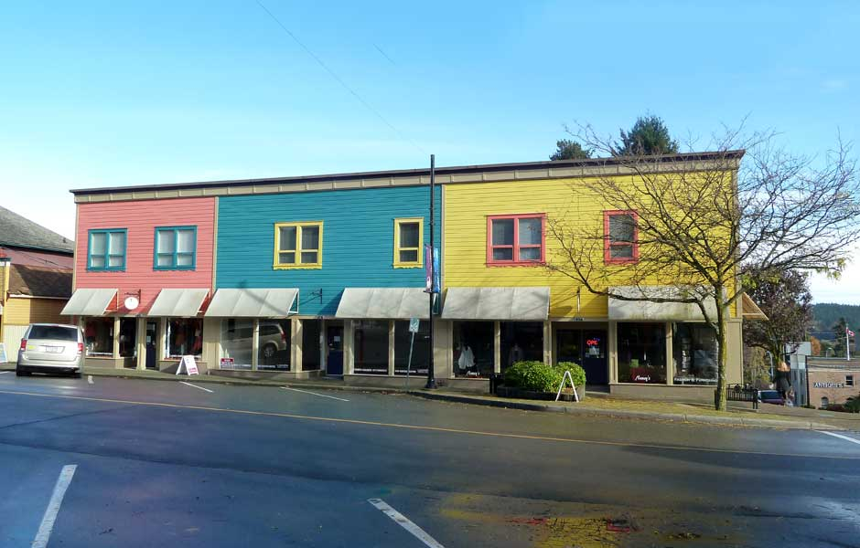 Century homes in Ladysmith, BC