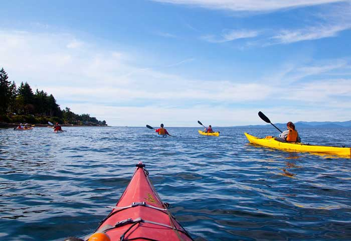 Kayak from your own low bank waterfront home in Ladysmith, BC